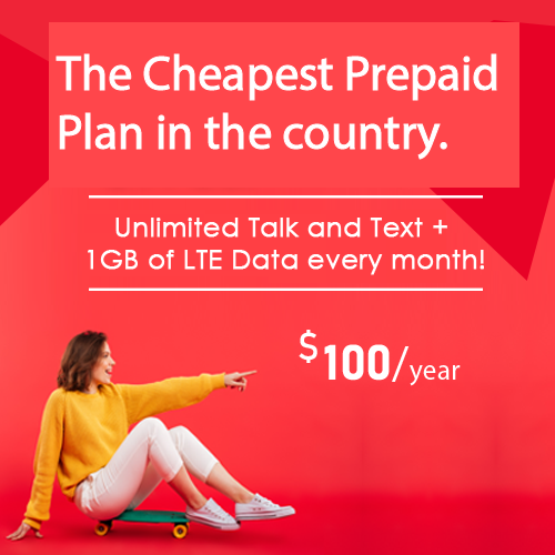 Our lowest price for Unlimited Plan